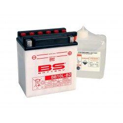 Batterie BS BATTERY BB10L-B2 haute performance livrée avec pack acide
