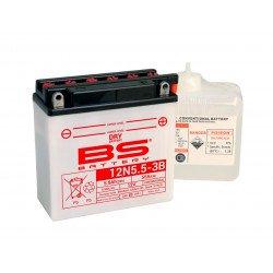 Batterie BS BATTERY 12N5.5-3B conventionnelle livrée avec pack acide