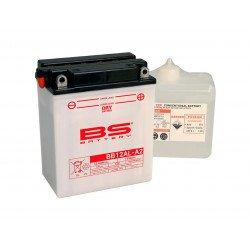 Batterie BS BATTERY BB12AL-A2 haute performance livrée avec pack acide