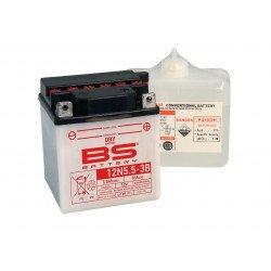 Batterie BS BATTERY 12N5.5A-3B conventionnelle livrée avec pack acide