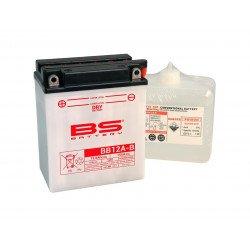 Batterie BS BATTERY BB12A-B haute performance livrée avec pack acide