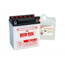 Batterie BS BATTERY BB10L-B haute performance livrée avec pack acide