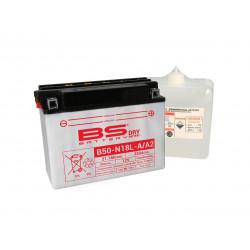 Batterie BS BATTERY B50N18L-A2 haute performance livrée avec pack acide