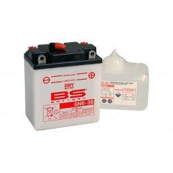 Batterie BS BATTERY 6N6-3B conventionnelle livrée avec pack acide