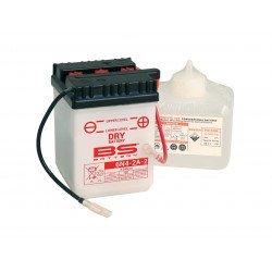 Batterie BS BATTERY 6N4-2A conventionnelle livrée avec pack acide
