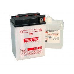 Batterie BS BATTERY B38-6A conventionnelle livrée avec pack acide