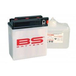 Batterie BS BATTERY 12N7-4A conventionnelle livrée avec pack acide