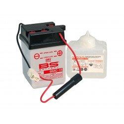 Batterie BS BATTERY 6N4C-1B conventionnelle livrée avec pack acide