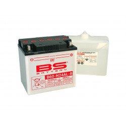 Batterie BS BATTERY B60-N24AL-B haute performance livrée avec pack acide