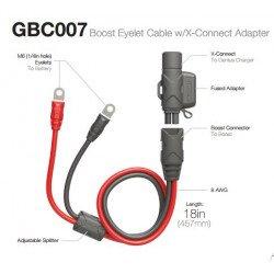 Câble rallonge NOCO Booster Oeillets/X-Connect 50 cm