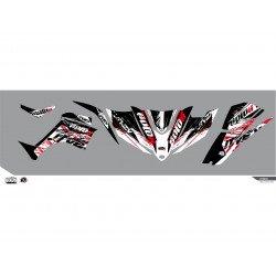 Kit déco KUTVEK Rotor noir Kymco Maxxer 450