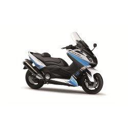 Kit déco KUTVEK Cooper blanc/bleu Yamaha T-Max 530
