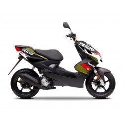 Kit deco KUTVEK Yasuni Factory rouge/noir MBK Nitro/Yamaha Aerox 50
