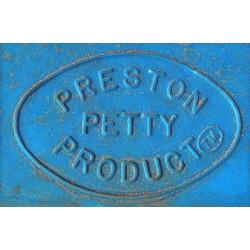 Garde-boue avant PRESTON PETTY Vintage MX bleu Butalco
