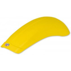 Garde-boue arrière UFO universel large jaune
