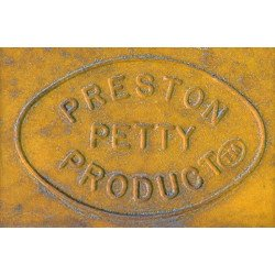 Garde-boue arrière PRESTON PETTY Vintage MX jaune