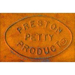 Garde-boue arrière PRESTON PETTY Vintage MX orange citrouille