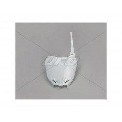 Plaque numéro frontale UFO blanc Suzuki RM-Z250/450