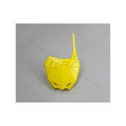Plaque numéro frontale UFO jaune Suzuki RM-Z250/450