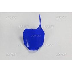 Plaque numéro frontale UFO bleu Yamaha