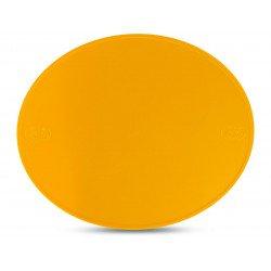 Plaque numéro frontale PRESTON PETTY ovale jaune