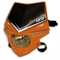 Plaque phare UFO Stealth orange