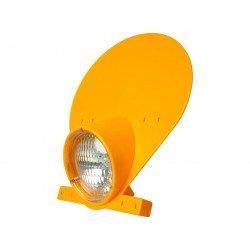 Plaque phare PRESTON PETTY halogène jaune