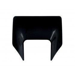 Plastique de plaque phare RACETECH noir Husqvarna
