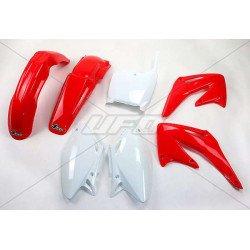 Kit plastique UFO couleur origine rouge/blanc Honda CRF450R