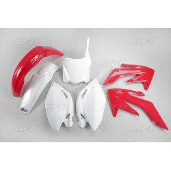 Kit plastique UFO couleur origine rouge/blanc (2009) Honda CRF250R