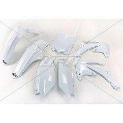 Kit plastique UFO blanc Honda CRF250R/450R
