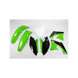 Kit plastique UFO couleur origine vert/noir Kawasaki KX250F