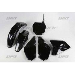 Kit plastique UFO noir Suzuki RM85