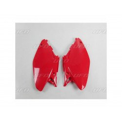 Plaques latérales UFO rouge Honda CR125R/250R