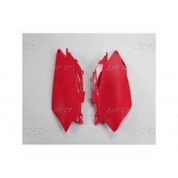 Plaques latérales UFO rouge Honda CRF250R/450R