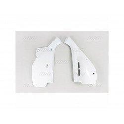 Plaques latérales UFO blanc Honda XR600R