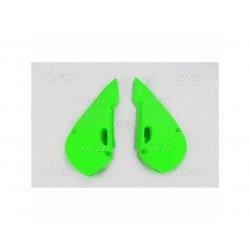 Plaques latérales UFO vert KX Kawasaki