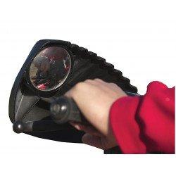 Protège-mains + rétroviseurs KOLPIN quad noir