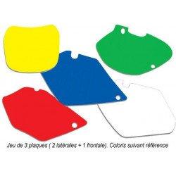Fonds de plaque BLACKBIRD jaune Suzuki RM-Z450