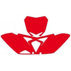 Fonds de plaque BLACKBIRD rouge Suzuki RM-Z250
