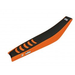 Housse de selle BLACKBIRD Double Grip 3 noir/orange KTM