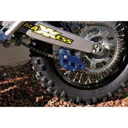 Guide chaîne AXP Teflon bleu Yamaha YZ250F/450F