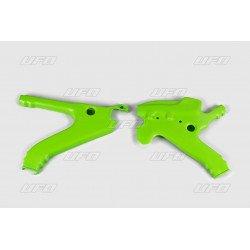 Protège cadre UFO vert Kawasaki KX