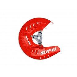 Protège disque avant UFO rouge Honda CRF250R/CRF450R