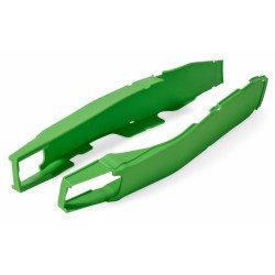 Protection de bras oscillant POLISPORT vert Kawasaki KX250F/450F