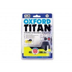 Bloque disque OXFORD Titan Ø10mm jaune