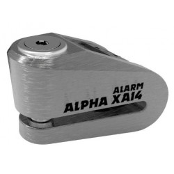 Bloque disque alarme OXFORD Alpha XA14 Ø14mm inox