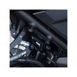 Platines pour sangles R&G RACING noir Kawasaki Ninja 400
