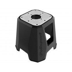 Trépied POLISPORT 420mm noir/caoutchouc gris
