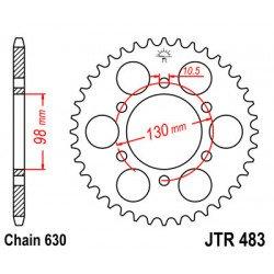 Couronne JT SPROCKETS 35 dents acier standard pas 630 type 483